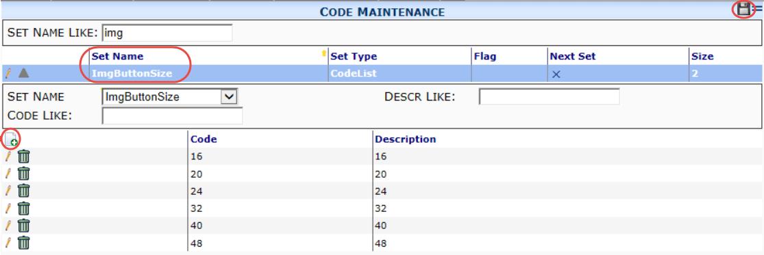 ImgButtonSize code set