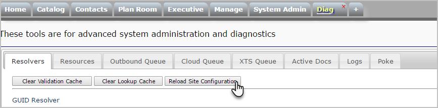 reload-site-configuration